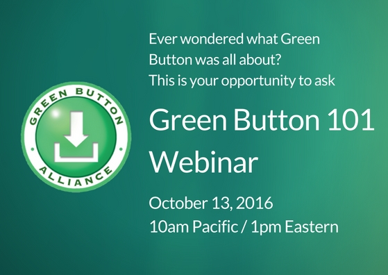 Green Button 101 Webinar