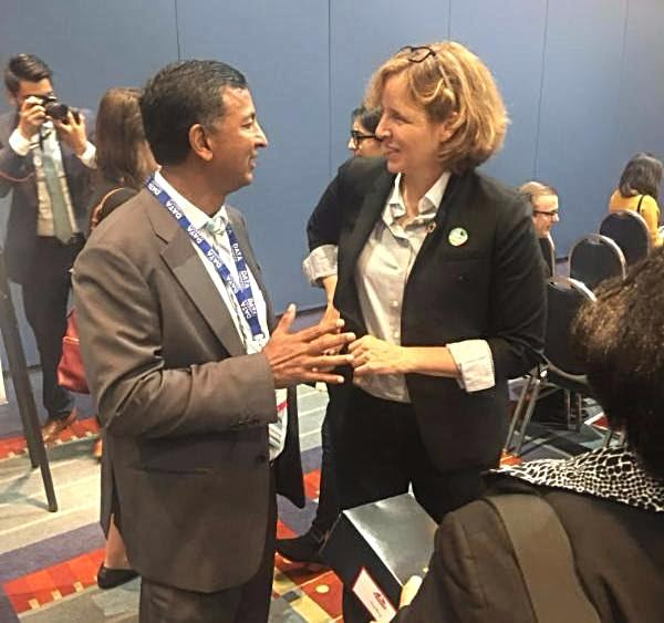(L-R) GBA chairman Syed Mir and U.S. CTO Megan Smith